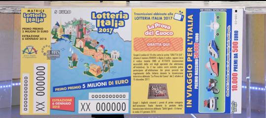 Lotteria Italia, in Calabria premi per novantamila euro tra le province di Cosenza e Catanzaro