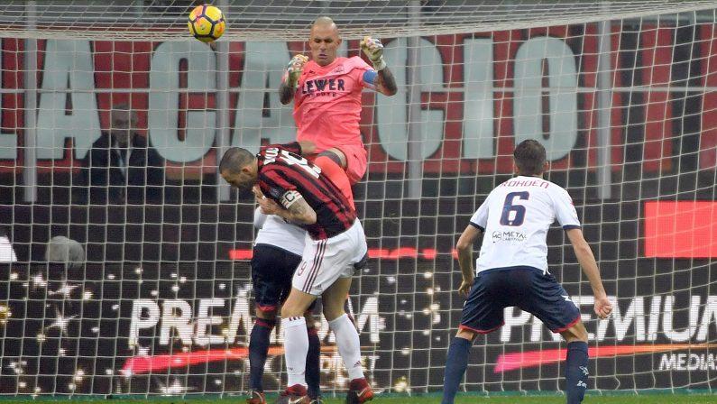 Serie A, Crotone battuto a San Siro dal Milan  Gattuso mette in crisi la squadra calabrese