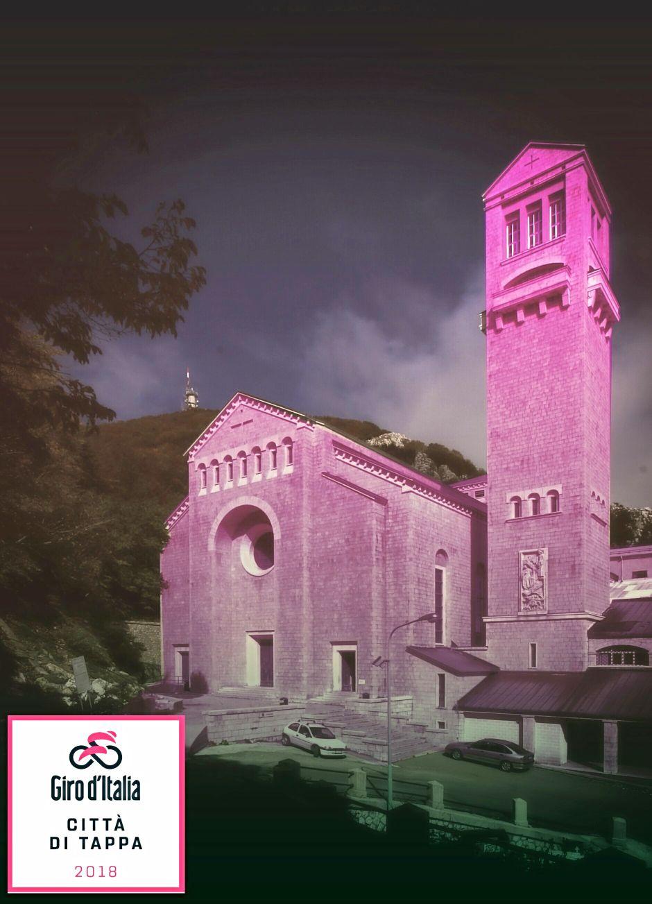 Montevergine si tinge di rosa aspettando il Giro D'Italia