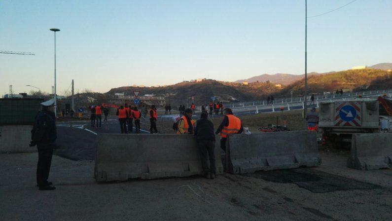 VIDEO - Cosenza, poche ore all'inaugurazione del ponte di Calatrava