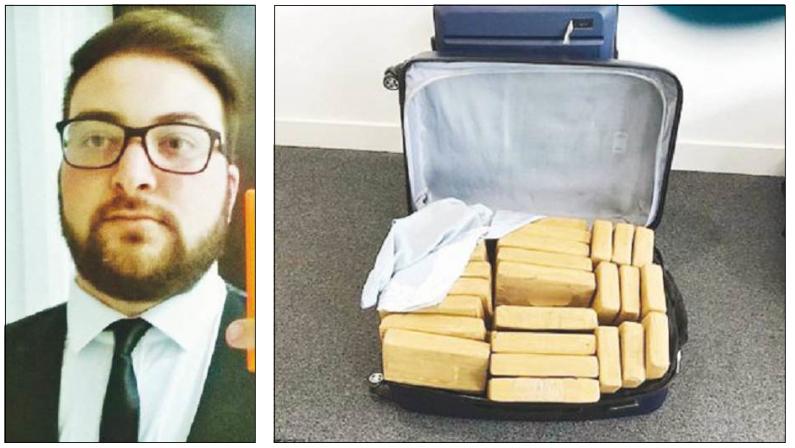 Il giovane cutrese arrestato in Hampshire con 500 chili di cocaina