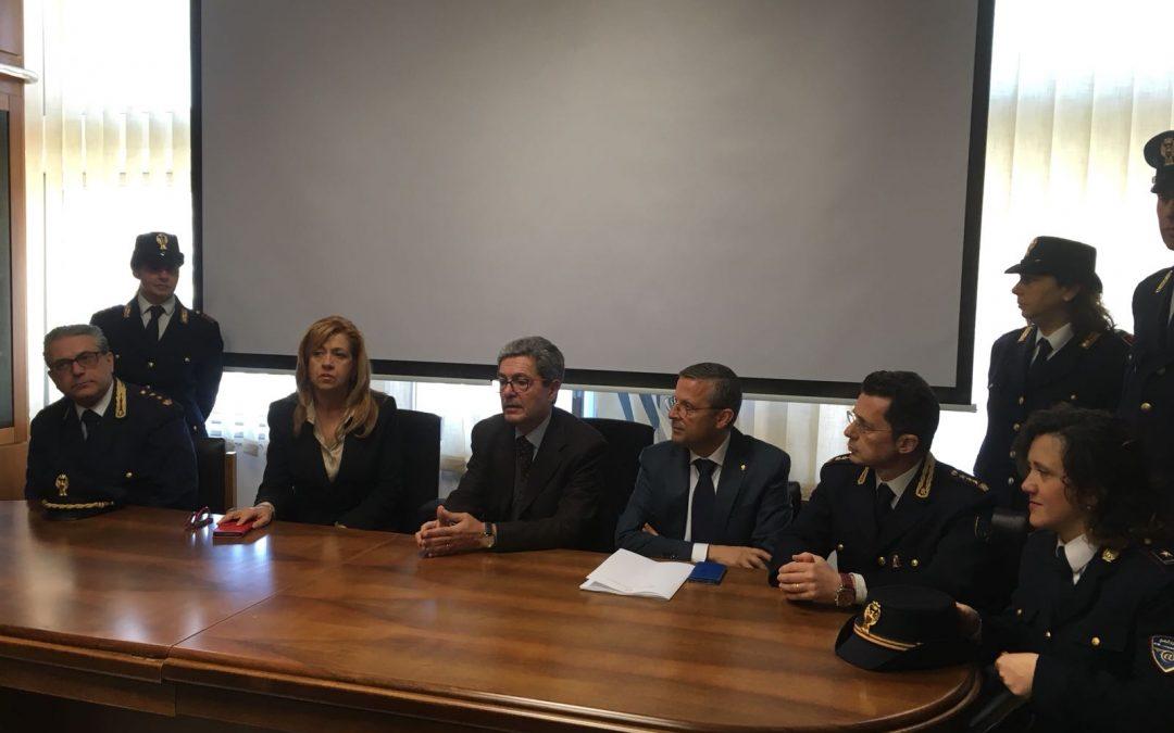 La conferenza stampa del procuratore di Cosenza Mario Spagnuolo