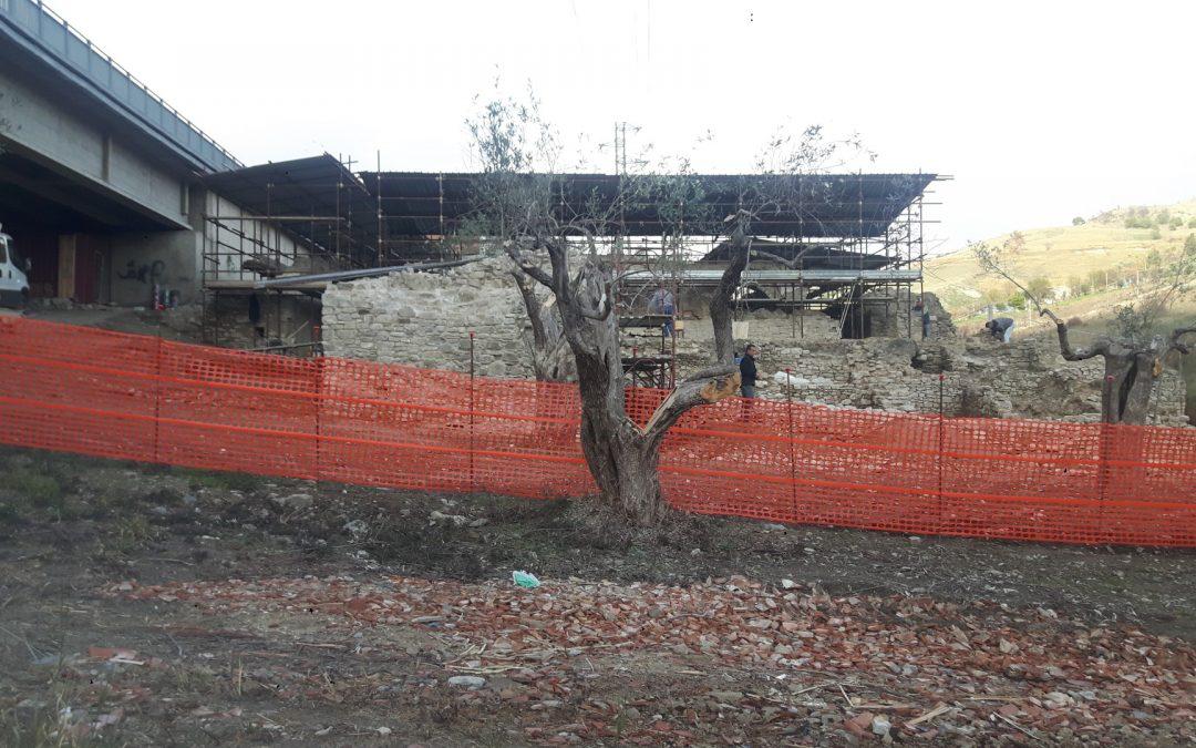 Lavoratori in nero in un cantiere archeologico ad Oriolo  Lavori bloccati e materiale sequestrato dalla Finanza