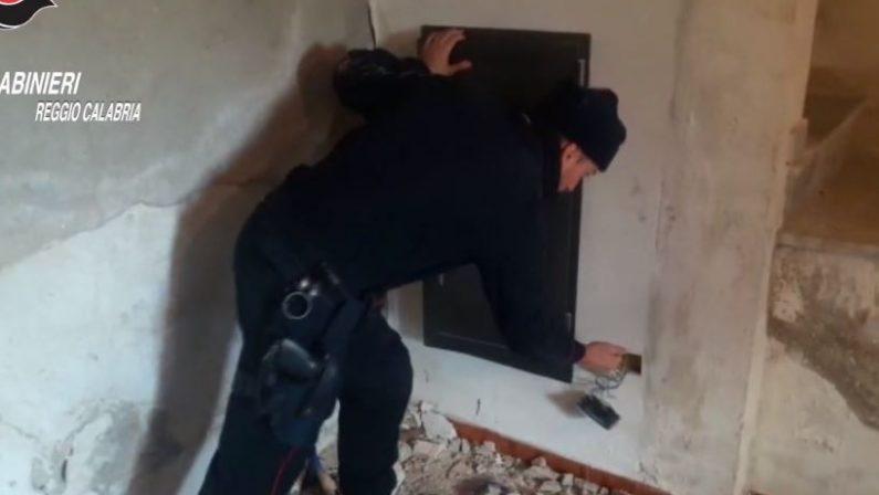 VIDEO - Scoperti tre bunker della 'ndranghetaEcco i nascondigli segreti del Reggino