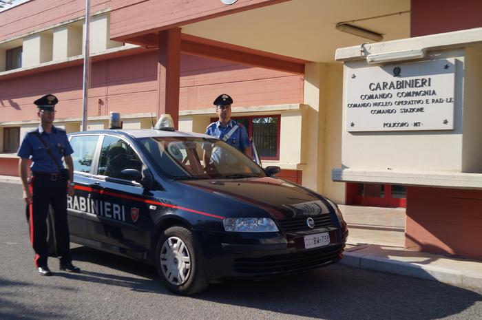 Ha marijuana in casa e in auto, arrestato 34enne nel Materano