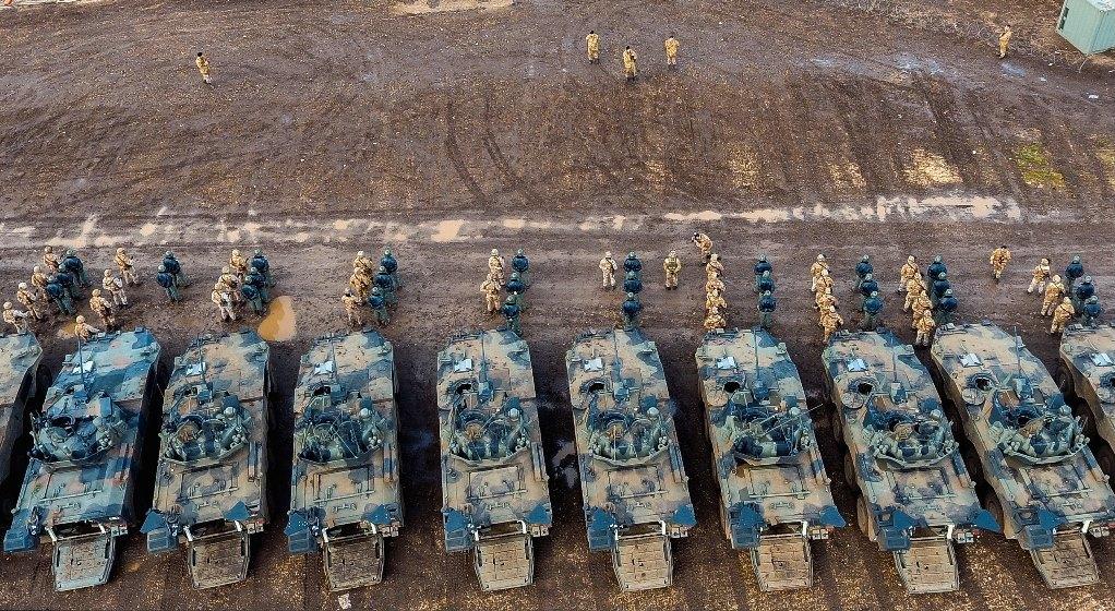 Foto dalla pagina fb dell'Esercito Italiano