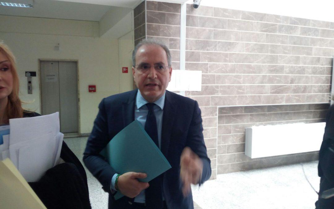L'ex sindaco Paolo Mascaro in tribunale