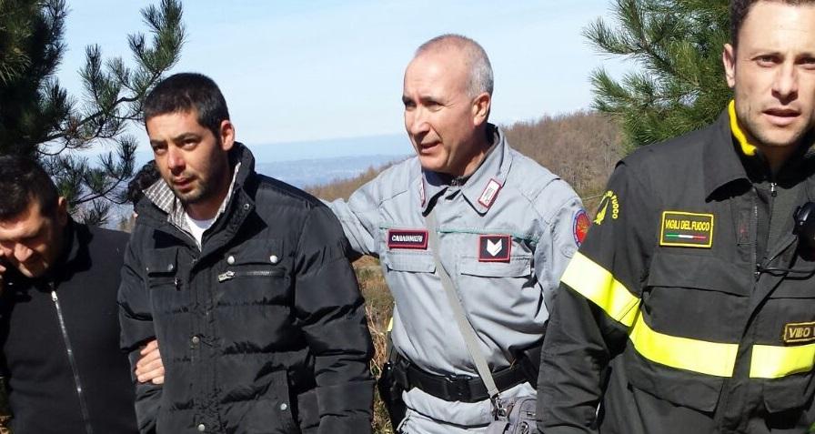 Ritrovato il trentenne scomparso nel ViboneseL'allarme e le ricerche erano scattate venerdì sera