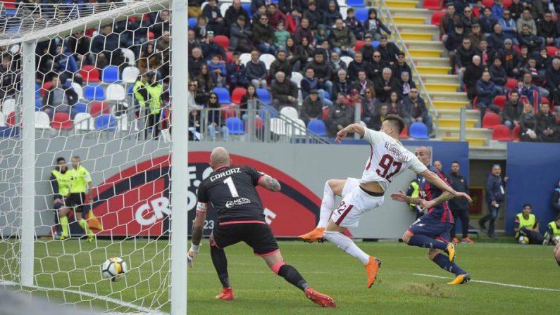 Serie A, il Crotone si arrende in casa alla RomaZenga: «Sono ottimista, abbiamo creato molto»