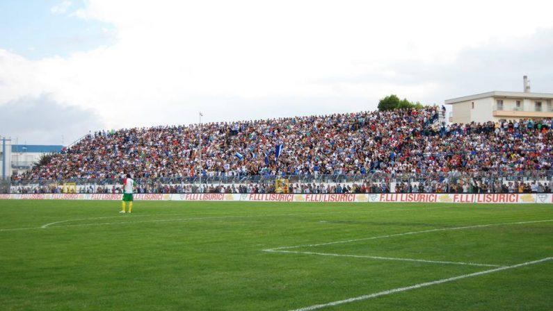 Coppa Italia Serie C, si giocherà mercoledì 8 il derby Matera-Potenza rinviato per maltempo