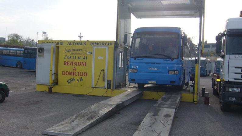 Un autobus su 4 non è in regola con la revisioneLa Calabria seconda peggior regione d'ItaliaA Vibo sono irregolari ben il 40% dei mezzi