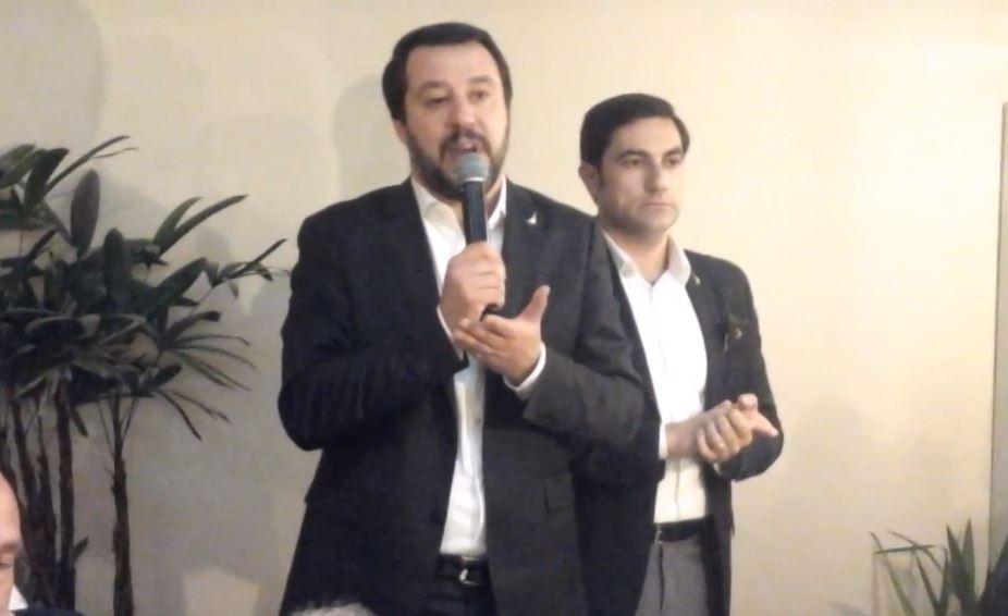 VIDEO – Matteo Salvini in visita a Lamezia Terme  «Governeremo la Calabria partendo dalle infrastrutture»