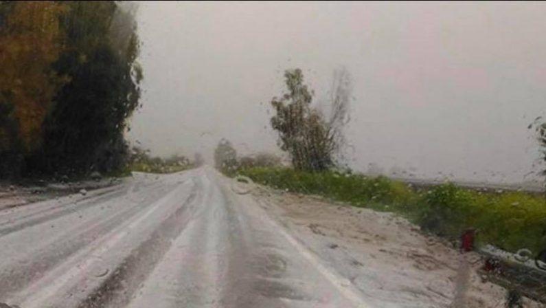 Maltempo imperversa in Calabria: pioggia e grandineDisagi soprattutto nel Catanzarese e nel Crotonese