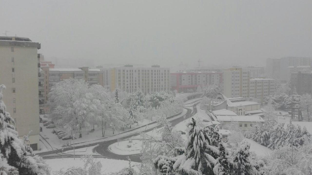 Attesa neve a Potenza, scuole del capoluogo chiuse sabato 23 febbraio