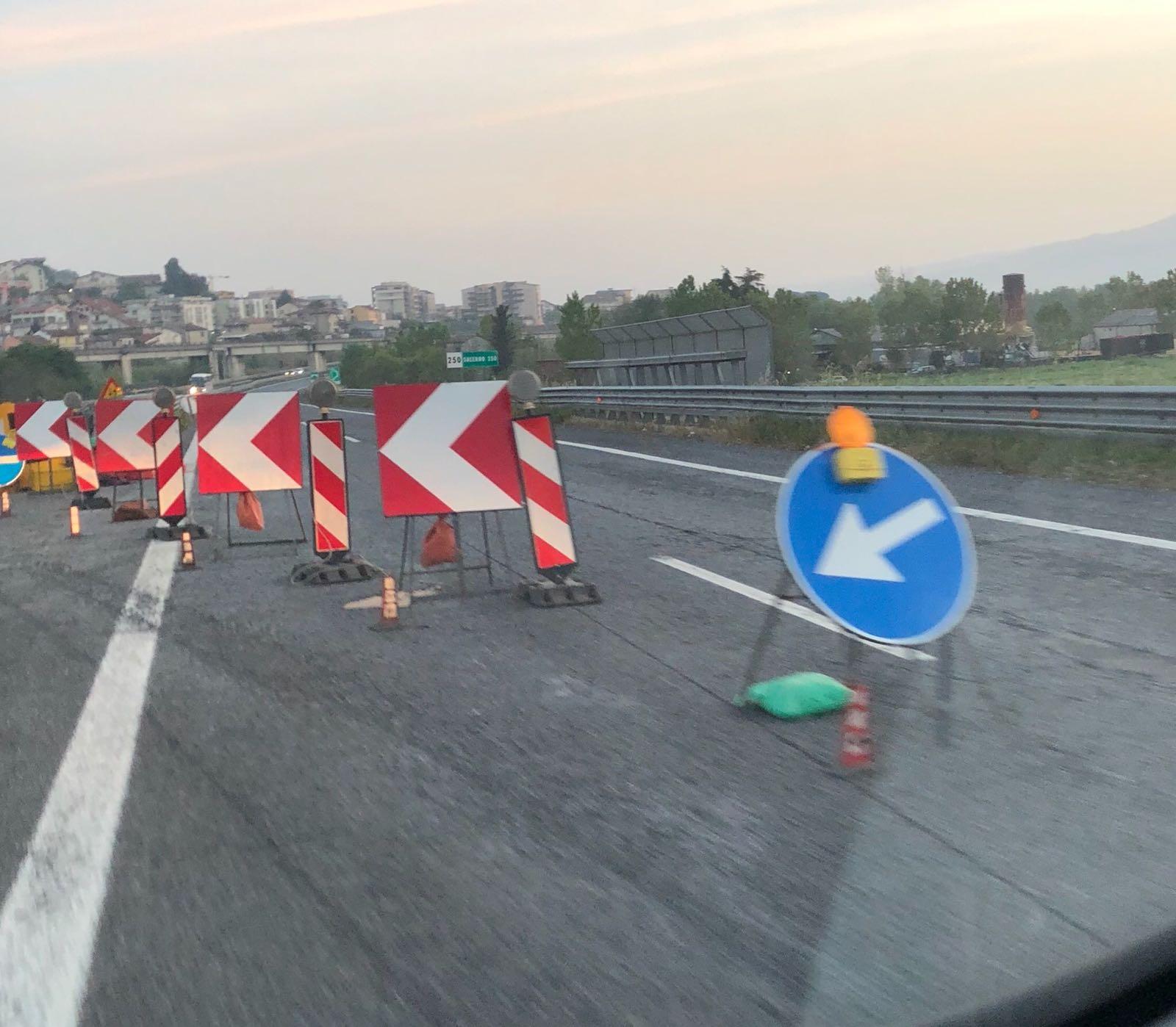 Dal 13 luglio e fino a settembre cantieri chiusi in Autostrada  Botta e risposta tra Oliverio e Anas sull'A2 del Mediterraneo