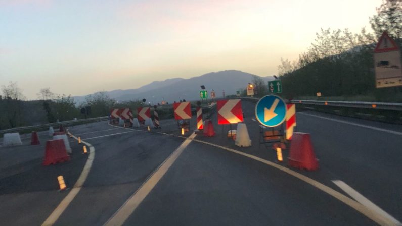 Autostrada Salerno-Reggio Calabria, che bluff: i cantieri ci sono ancora