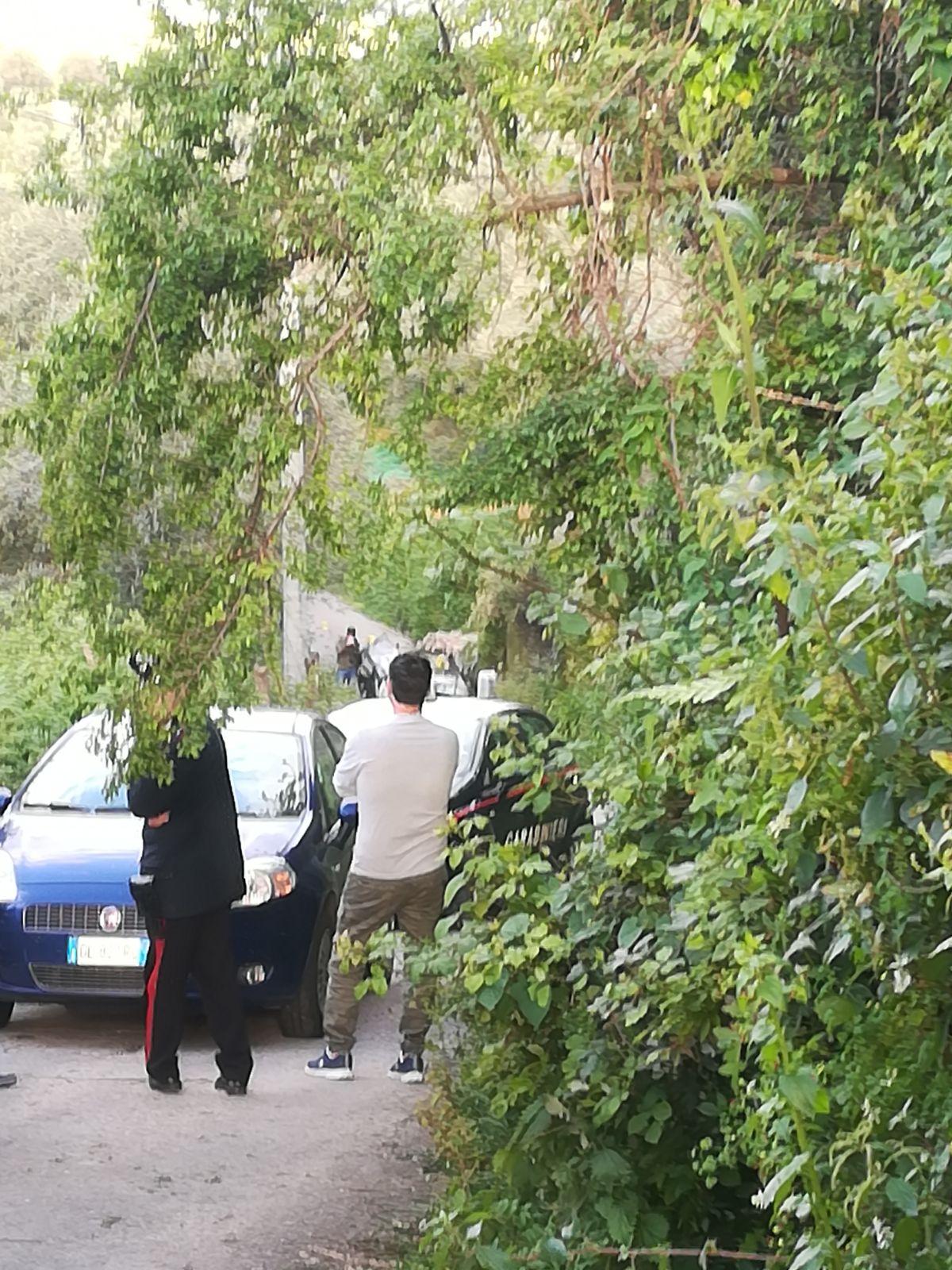 FOTO – Auto esplode nel Vibonese, un morto e un ferito