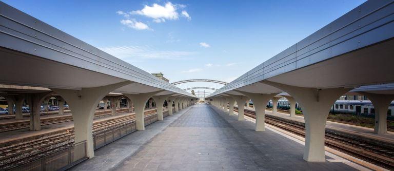 Il progetto della stazione di Cosenza