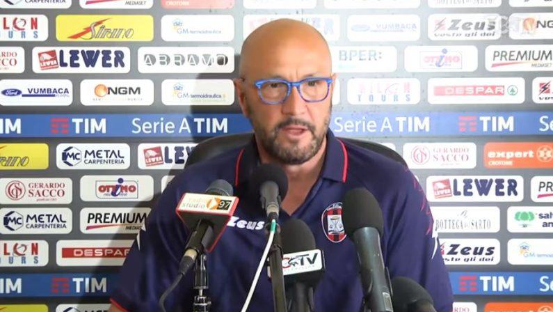 Serie A, dopo la grande impresa contro la JuventusZenga: «Il Crotone può mettere in difficoltà l'Udinese»
