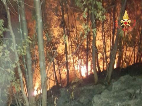 L'incendio ad Albi