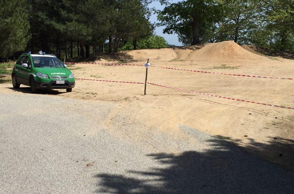 Sequestrata una pista per motocross nel Cosentino  Era stata realizzata in un'area protetta da tutela
