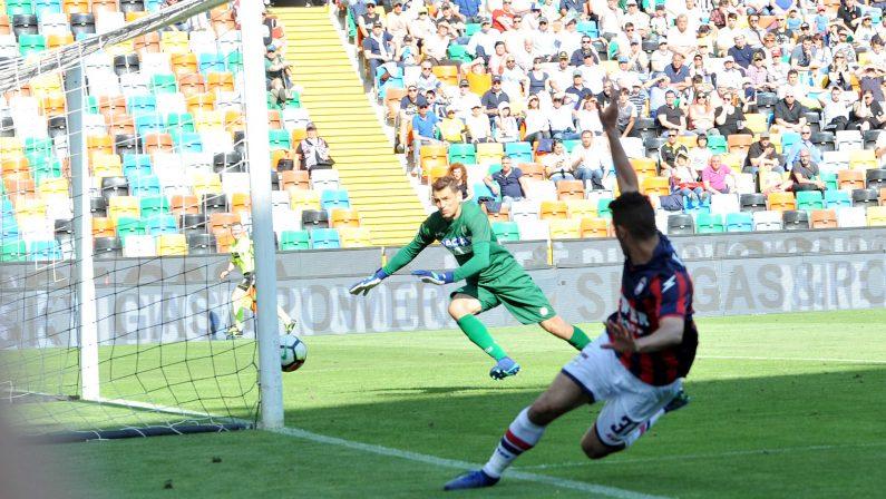 Serie A, il Crotone espugna lo stadio dell'Udinese  Vittoria importante in termini di punti salvezza