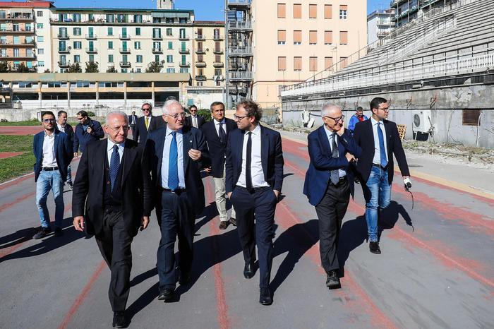 Universiadi:sopralluogo delegazioni a Napoli