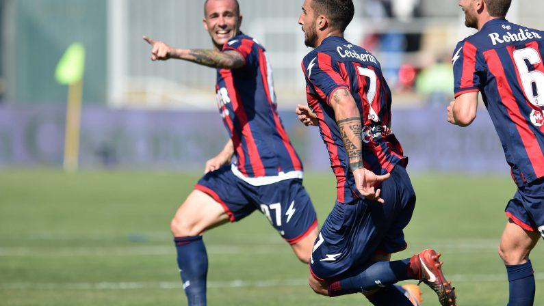Crotone vede la salvezza ma viene raggiunto dalla LazioA pochi minuti dalla fine Milinkovic sigla il gol del pari