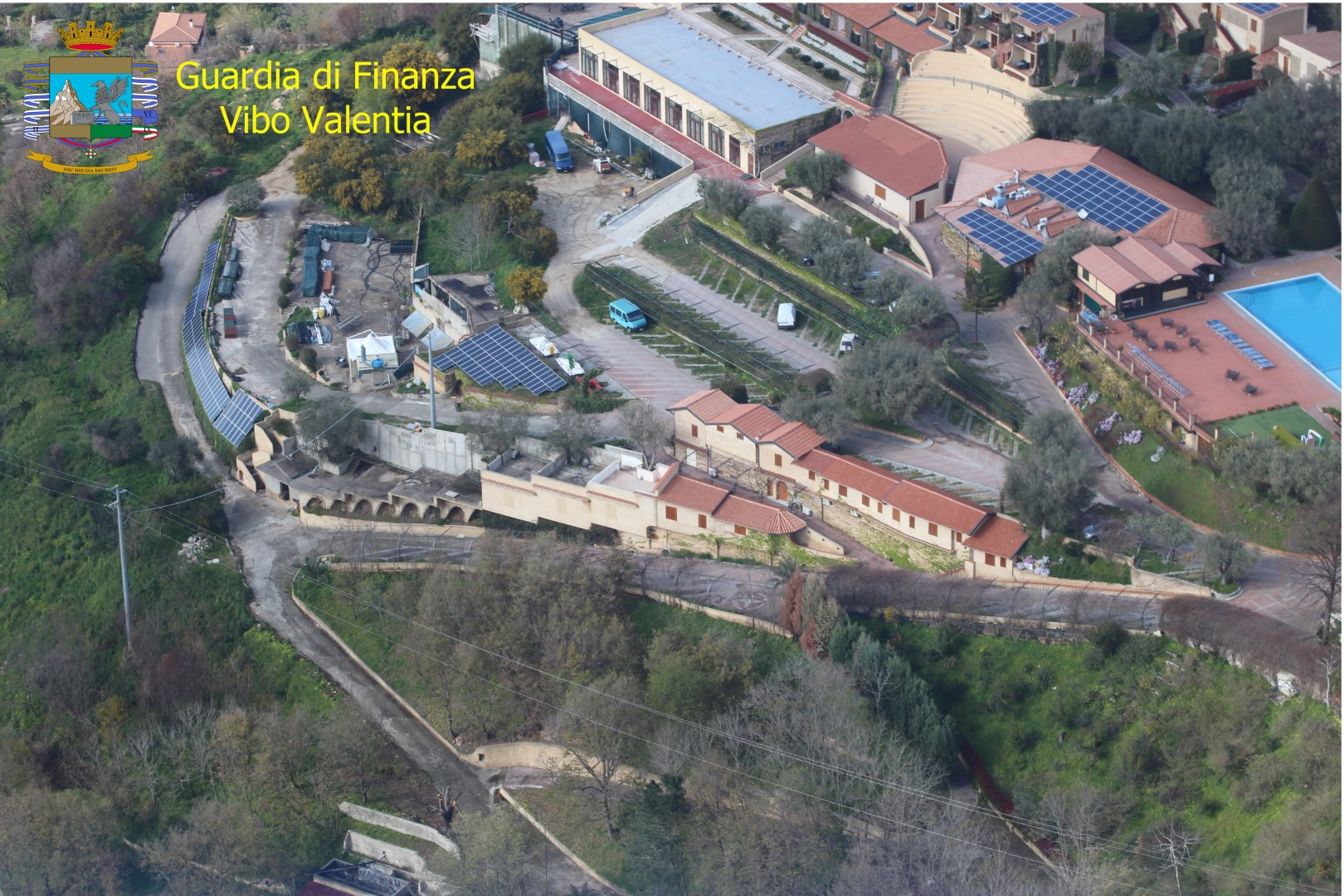 Opere edilizie abusive in un villaggio turisticoSequestrate strutture per un valore di 600 mila euro