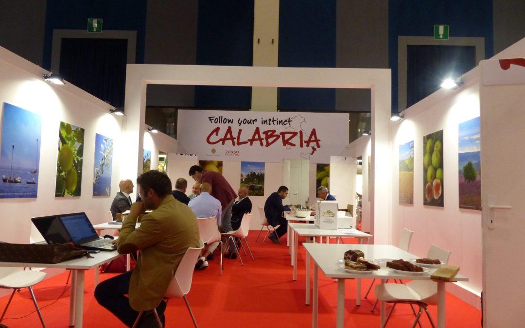 Lo stand della Calabria