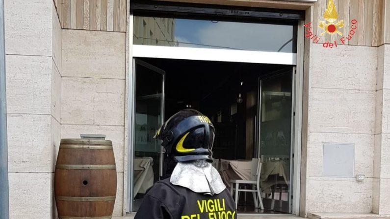 Incendio in un noto ristorante di SoveratoDanni al locale, indagini sulle cause del rogo