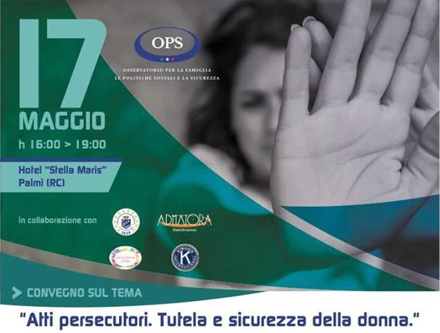 """Femminicidi, violenza domestica, stalking e cyberbullismo: parte dalla Calabria il percorso di """"Ops"""""""