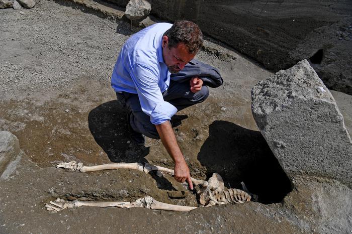 Scoperta a Pompei, è l'ultimo fuggiasco