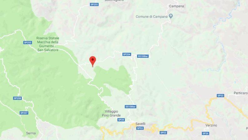 Tre terremoti in un'ora in Calabria, il più forte di magnitudo 3.5Colpita sempre la stessa area tra le province di Cosenza e Crotone