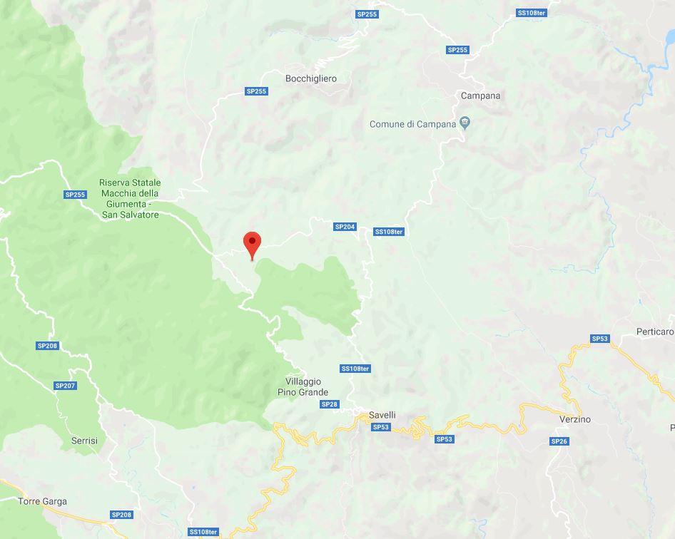 Tre terremoti in un'ora in Calabria, il più forte di magnitudo 3.5  Colpita sempre la stessa area tra le province di Cosenza e Crotone