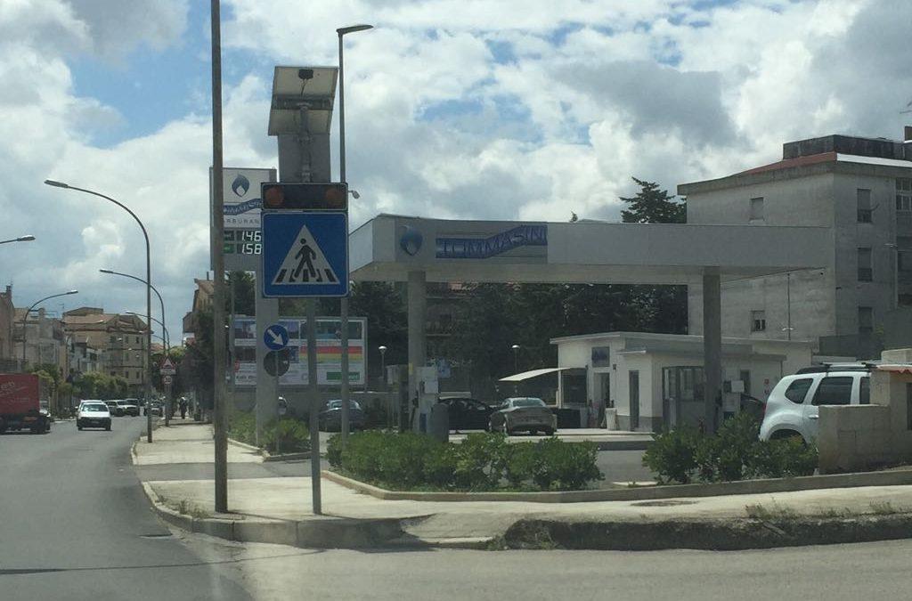 La stazione di Servizio di Irsina