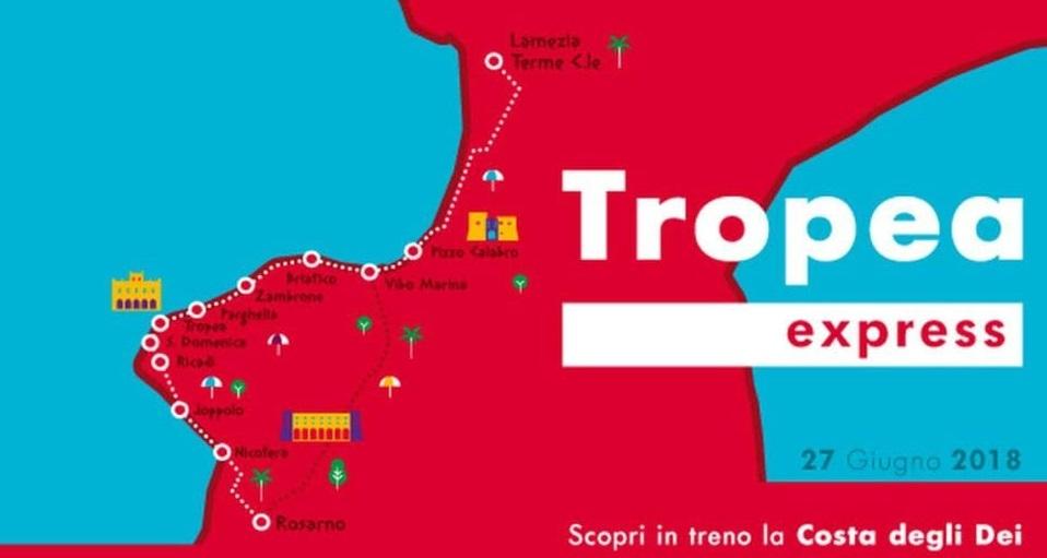 """Parte il """"Tropea Express"""", per spostarsi sulla costa degli Dei  L'iniziativa prevede un servizio ferroviario per tutta l'estate"""