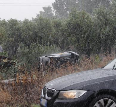 auto incidente raso