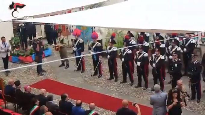VIDEO – La cerimonia di Cosenza per l'anniversario della fondazione dell'Arma dei Carabinieri