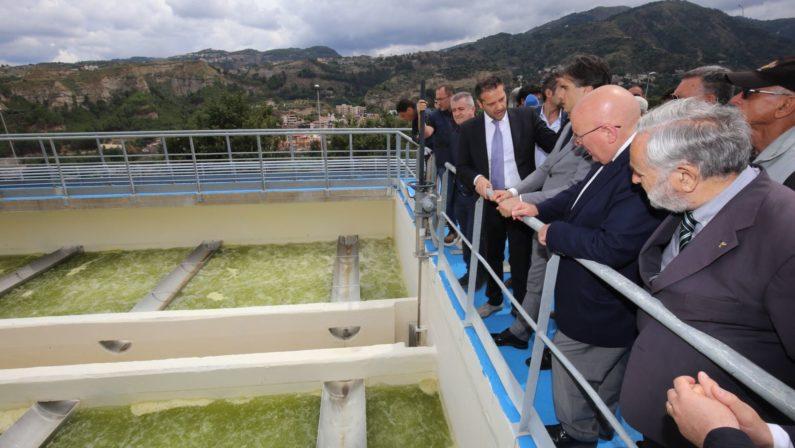 Nel 2018 a Reggio Calabria arriva l'acqua potabileDopo anni completata l'opera della Diga sul Menta