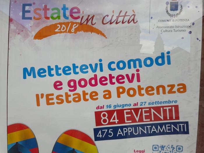 Estate a Potenza: 475 appuntamenti, torna la grande musica in piazza