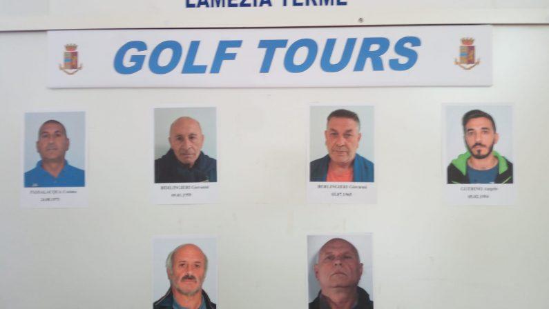 FOTO - Operazione contro furti e ricettazione a Lamezia, gli arrestati