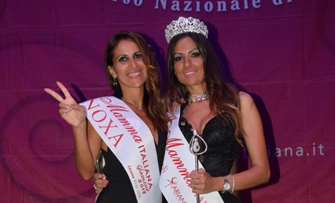 """Una calabrese conquista """"Miss Mamma Italiana""""  Sul podio anche un'altra giovane cosentina"""