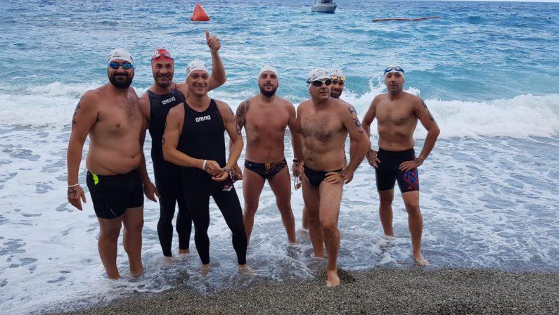 Nuoto, doppio appuntamento nel mare calabrese per gli Anzianotti ottimi risultati anche in acque libere