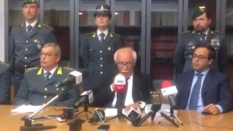 VIDEO - Arrestato il governatore Marcello PittellaLa conferenza stampa del procuratore Argentino
