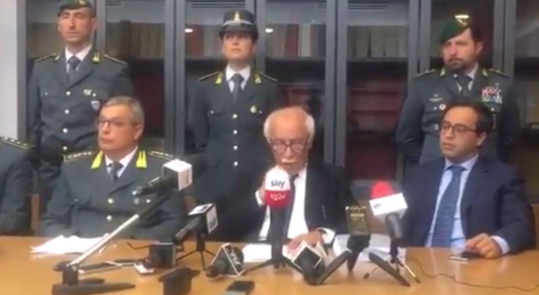 VIDEO - Arrestato il governatore Marcello PittellaLa conferenza stampa del procuratore Argentino