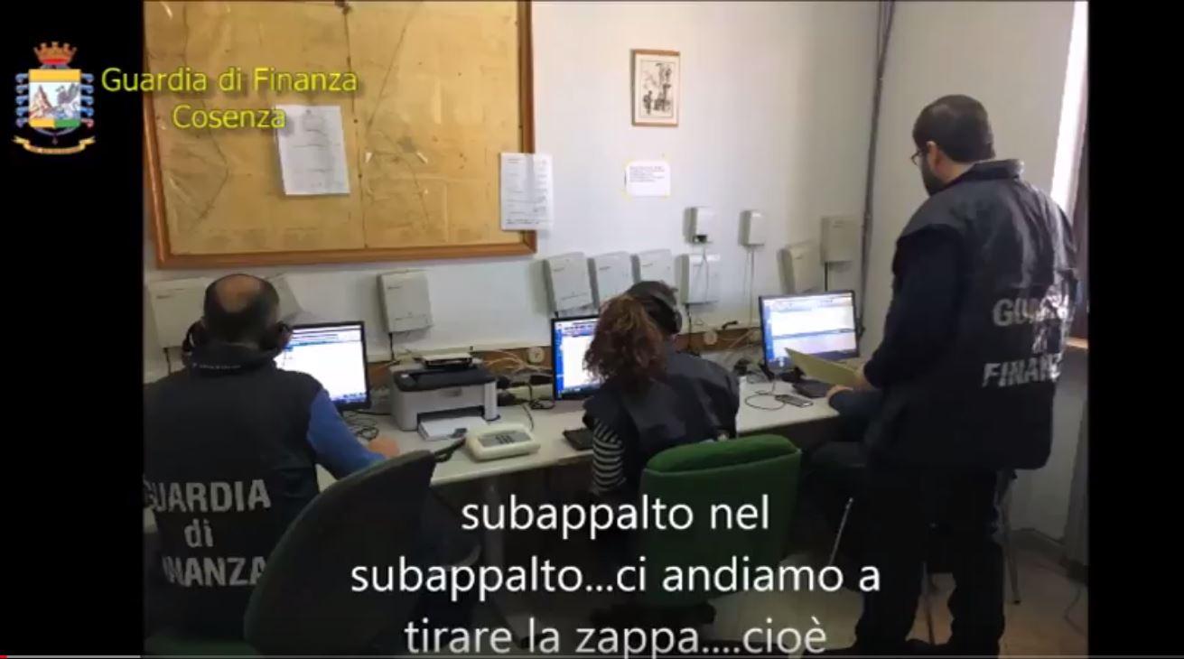VIDEO - Operazione Accordo comune nel cosentinoLe intercettazioni sull'attività dei 55 indagati