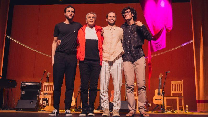 Caetano Veloso in concerto allo ScolaciumE' l'unica tappa in Calabria e nel Sud Italia