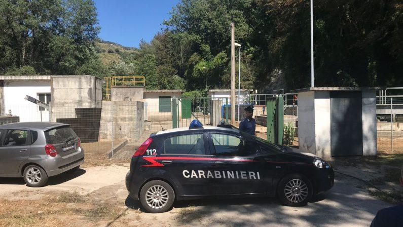 Criticità nella gestione del depuratore di SpilingaSequestrata la struttura e denunciate due persone