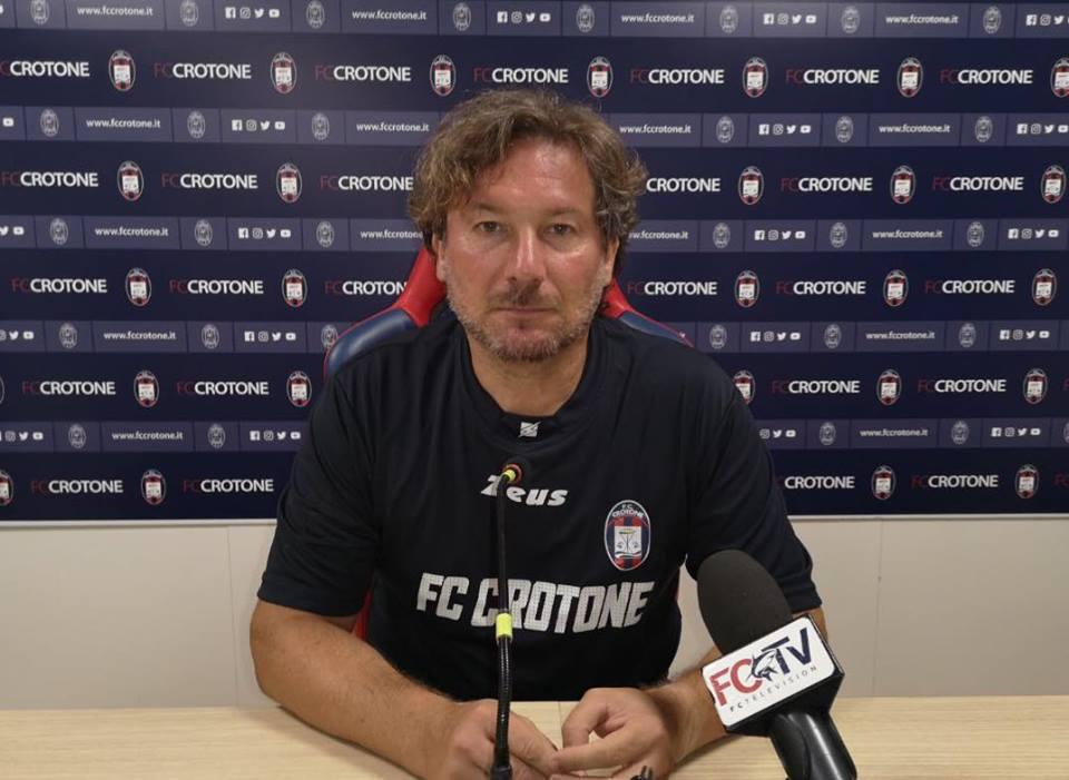 """Coppa Italia, prima uscita per il Crotone allo """"Scida""""  Domenica arriva la Samp. Stroppa: «E' un bel test»"""